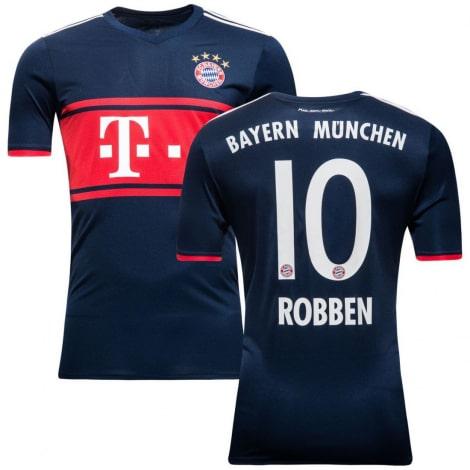 Гостевая футболка Баварии 2017-2018 Арьен Роббен
