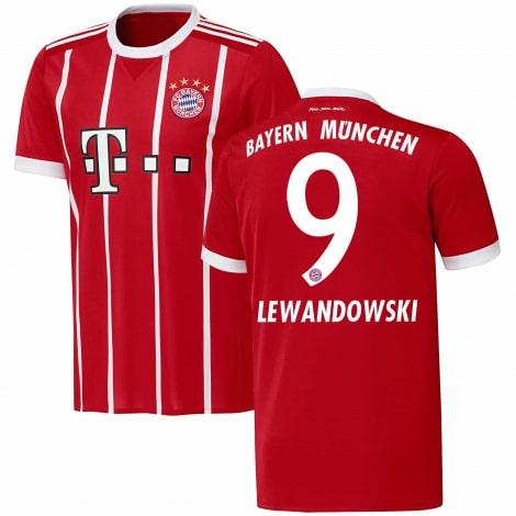 Домашняя футболка Баварии 2017-2018 Роберт Левандовски