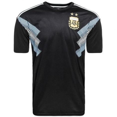 Гостевая футболка сборной Аргентины на ЧМ 2018