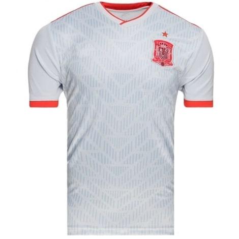 Гостевая игровая футболка сборной Испании на ЧМ 2018