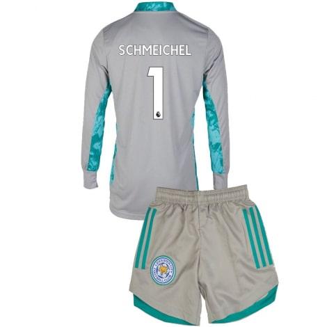 Вратарская гостевая форма Лестера SCHMEICHEL 20-21 футболка и шорты