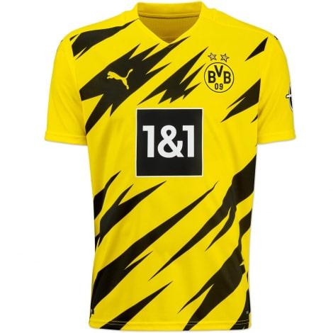 Детская домашняя форма Боруссии Марко Ройс 2020-2021 футболка вблизи