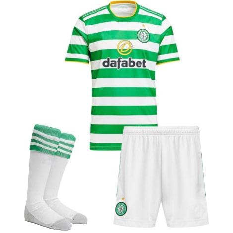 Комплект взрослой домашней формы Селтик 2020-2021 футболка шорыт и гетры