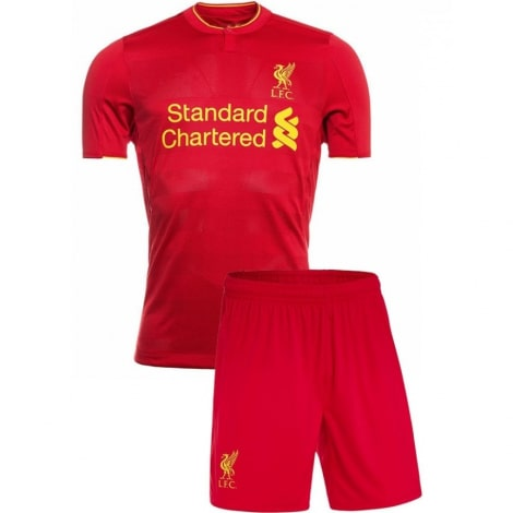 Домашняя футбольная форма Ливерпуля 2016-2017 футболка и шорты
