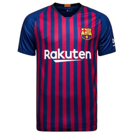 Домашняя игровая футболка Барселоны 2018-2019