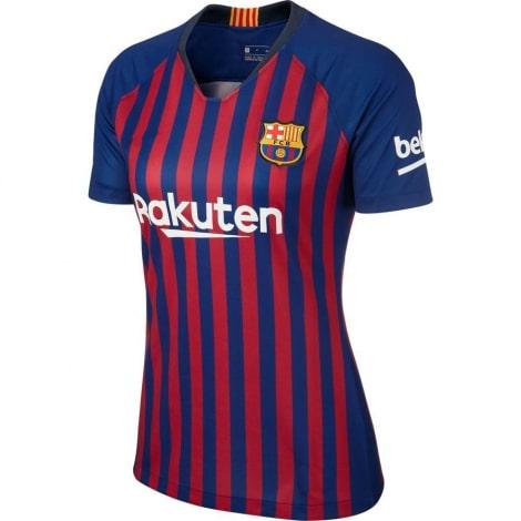 Женская домашняя футболка Барселоны 2018-2019