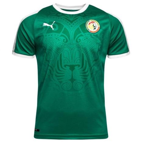 Зезеная гостевая футболка сборной Сенегала на чемпионат мира 2018
