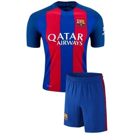 Домашняя футбольная форма Барселоны 2016-2017