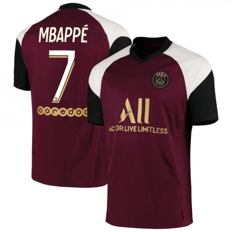 Третья футболка ПСЖ 2020-2021 Мбаппе