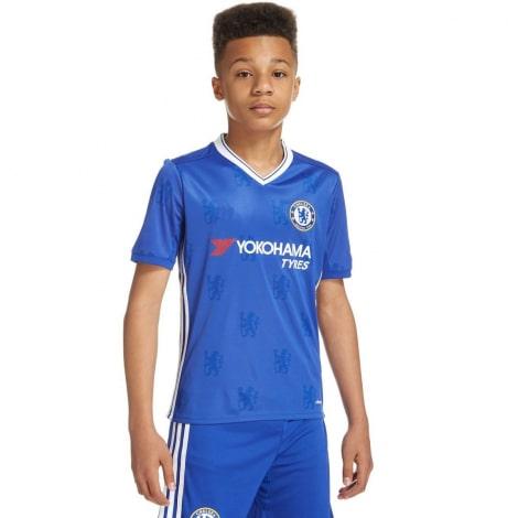 Детская домашняя футбольная форма Челси 2016-2017