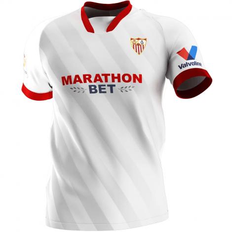 Домашняя игровая футболка Севилья 2020-2021