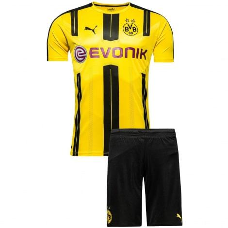 Домашняя футбольная форма Боруссии Дортмунд 2016-2017
