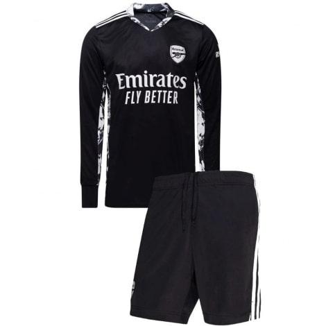 Вратарская домашняя футбольная форма Арсенала 20-21 футболка и шорты