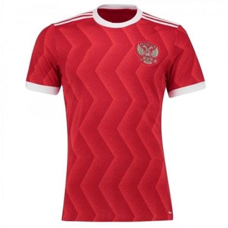 Домашняя игровая футболка сборной России 2017