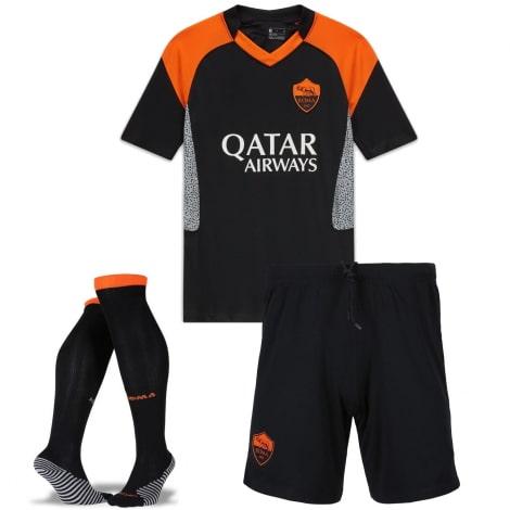 Комплект детской третьей формы Ромы 2020-2021 футболка шорты и гетры