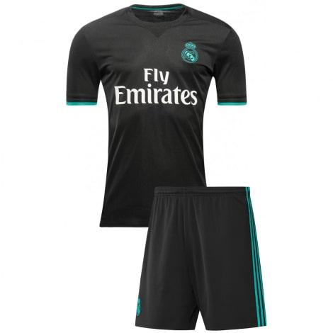 Гостевая футбольная форма Реал Мадрид 2017-2018 футболка и шорты