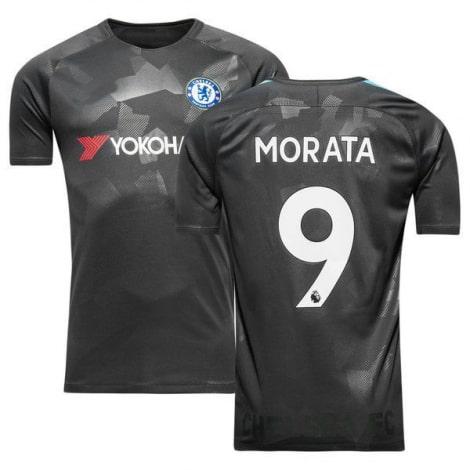 Третья игровая футболка Челси 2017-2018 Альваро Мората