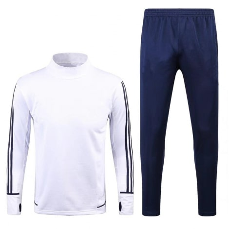 Бело-синий спортивный костюм Ювентуса 2017-2018
