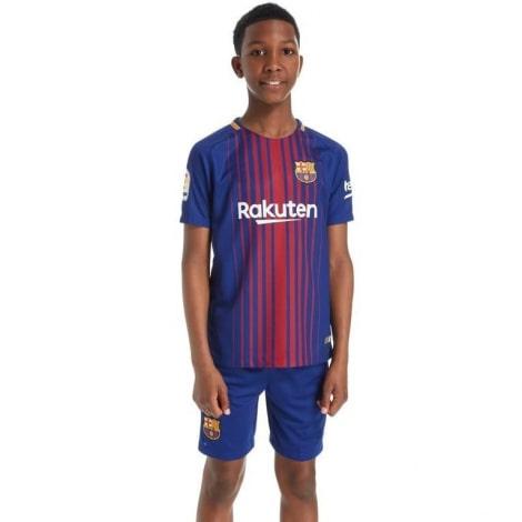 Детская домашняя футбольная форма Барселоны 2017-2018