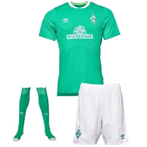 Комплект детской домашней формы Вердер Бремен 2019-2020 футболка шорты и гетры