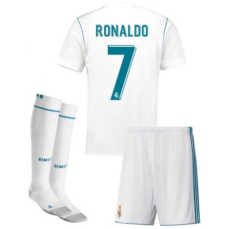 Детская домашняя футбольная форма Роналдо 2017-2018