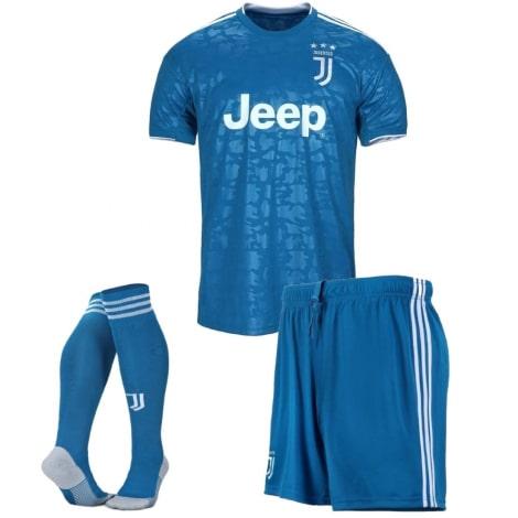 Взрослая третья футбольная форма Ювентуса 2019-2020 футболка шорты и гетры