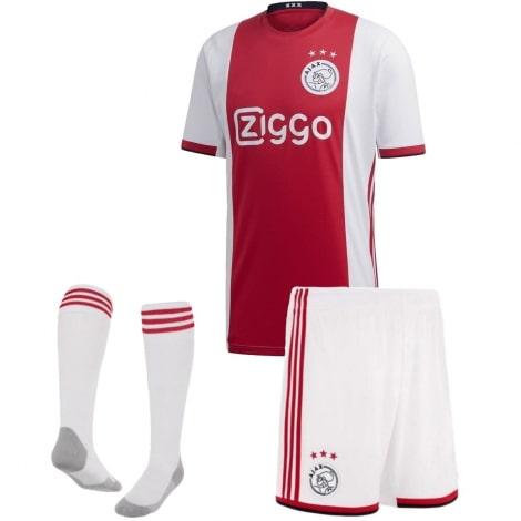 Комплект взрослой домашней формы АЯКС 2019-2020 футболка шорты и гетры