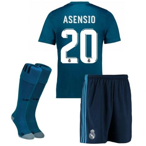 Детская третья футбольная форма Асенсио 2017-2018