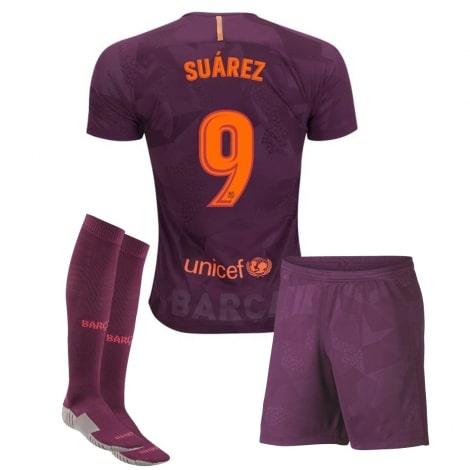 Детская третья футбольная форма Суарес 2017-2018