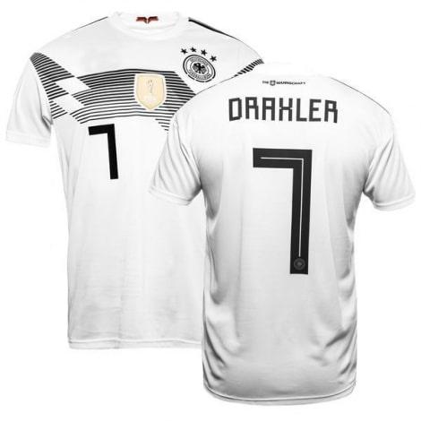 Футболка сборной Германии на ЧМ 2018 Юлиан Дракслер номер 7
