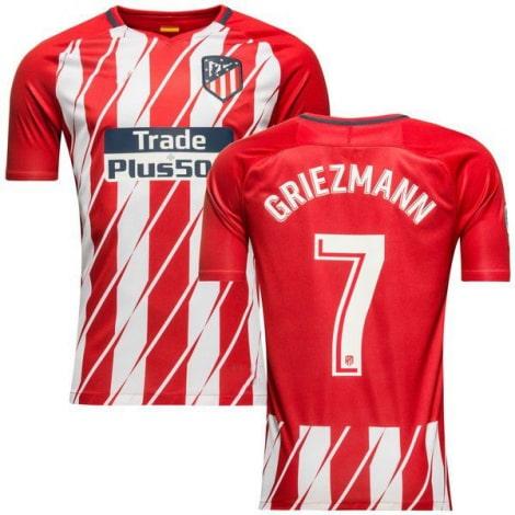 Домашняя футболка Атлетико Мадрид 2017-2018 Гризманн