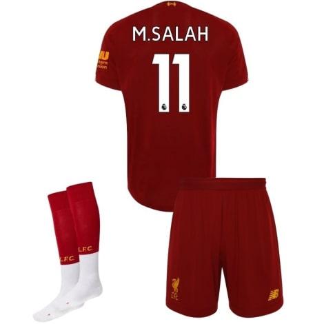Детская домашняя футбольная форма Салах 2019-2020