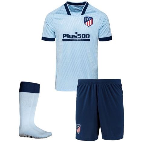 Взрослый комплект третьей формы Атлетико 2019-2020 футболка шорты и гетры