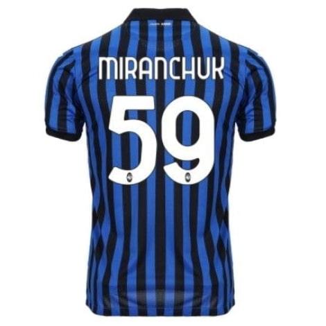 Домашняя футболка Аталанта 2020-2021 Миранчук