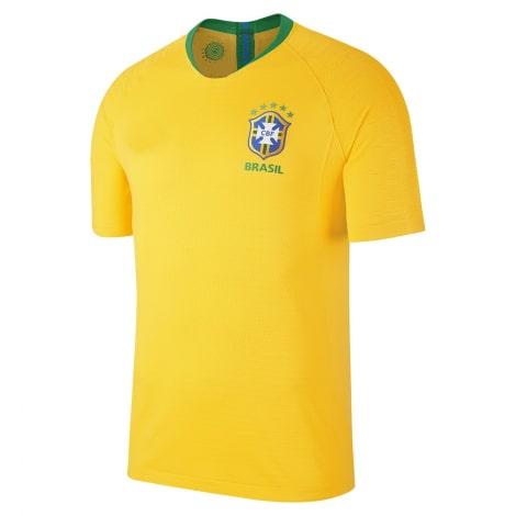 Домашняя футболка сборной Бразилии на чемпионат мира 2018