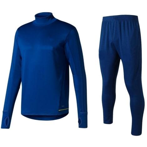 Синий спортивный костюм Ювентуса 2017-2018