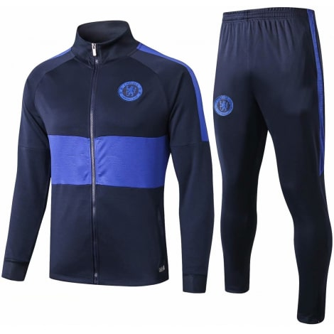 Взрослый синий тренировочный костюм Челси 2019-2020