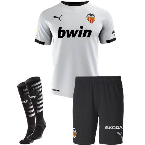 Взрослый комплект домашней формы Валенсия 2020-2021 футболка шорты и гетры