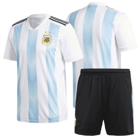 Комплект футбольной формы сборной Аргентины на ЧМ 2018
