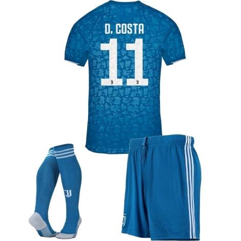 Детская третья футбольная форма Дуглас Коста 2019-2020 футболка шорты и гетры