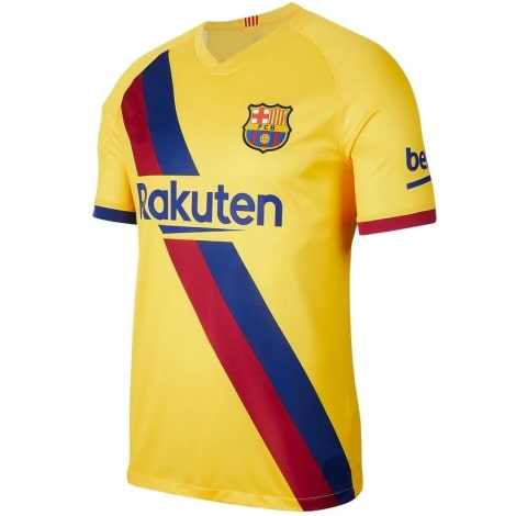 Гостевая игровая футболка Барселоны 2019-2020