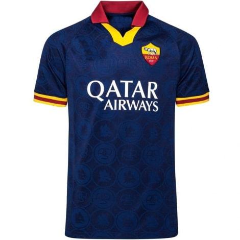 Комплект взрослой третьей формы Ромы 2019-2020 футболка