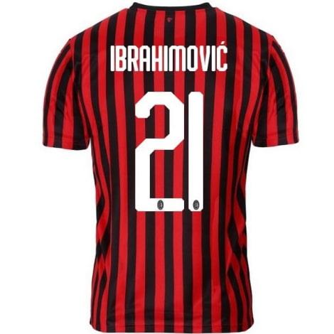 Домашняя футболка Милана 2019-2020 Златан Ибрагимович