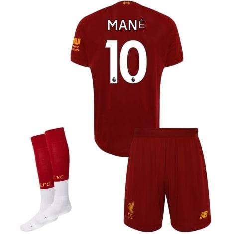 Детская домашняя футбольная форма Садио Мане 2019-2020 футболка шорты и гетры
