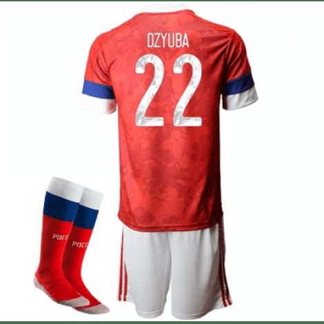 Детская домашняя форма России Артем Дзюба на ЕВРО 2020