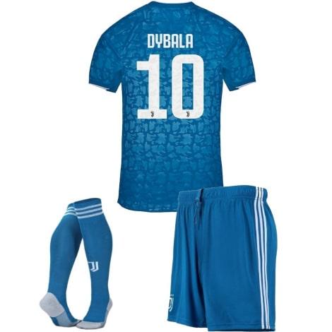 Детская третья футбольная форма Пауло Дибала 2019-2020 футболка шорты и гетры