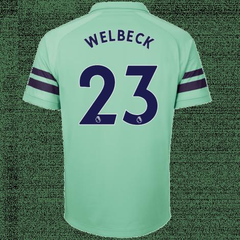 Третья футболка Арсенала Дэнни Уэлбек номер 23 2018-2019