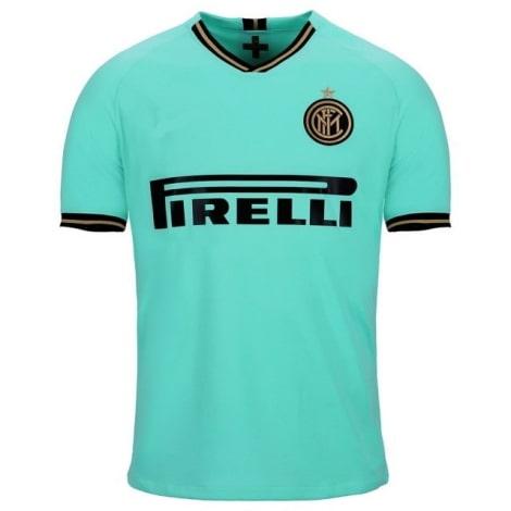 Детская гостевая форма Интера Ромелу Лукаку 2019-2020 футболка сзади