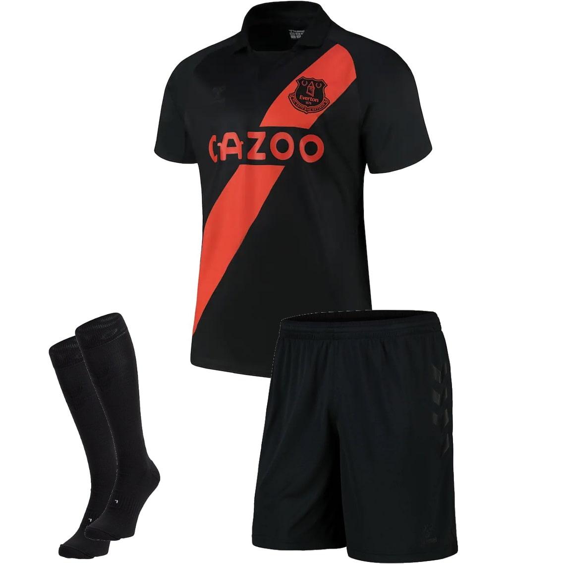 Детский комплект домашней формы Атлетико 2020-2021 шорты