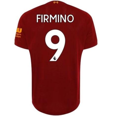 Домашняя футболка Ливерпуля 2019-2020 Роберто Фирмино номер 9